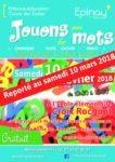 """""""Jouons avec les mots"""" : reporté au 10 mars 2018 8"""