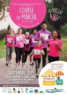 Octobre Rose : venez courir ou marcher pour faire reculer la maladie 1