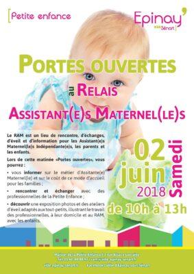 Portes ouvertes au Relais des Assistantes Maternelles samedi 2 juin 1
