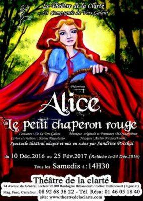 Sorties en famille : Alice, le petit chaperon rouge 1