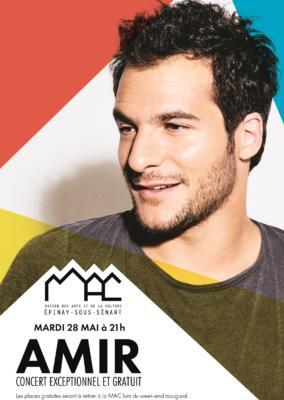 Amir en concert : distribution des places à 15h30 dimanche 12 mai à la MAC 1