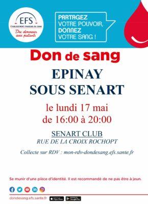 Collecte de sang à Épinay-sous-Sénart 1