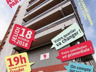 Renouvellement Urbain de La Plaine : Jeudi 18 octobre, participez à la transformation de votre quartier ! 14