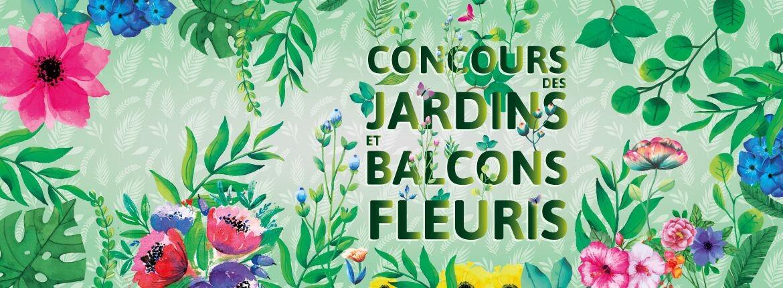 Concours des balcons et jardins fleuris 2019