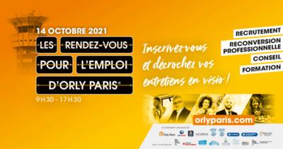 Les rendez-vous pour l'emploi Orly-Paris (événement en ligne) 1