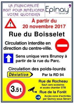 La rue Boisselet en sens unique 1