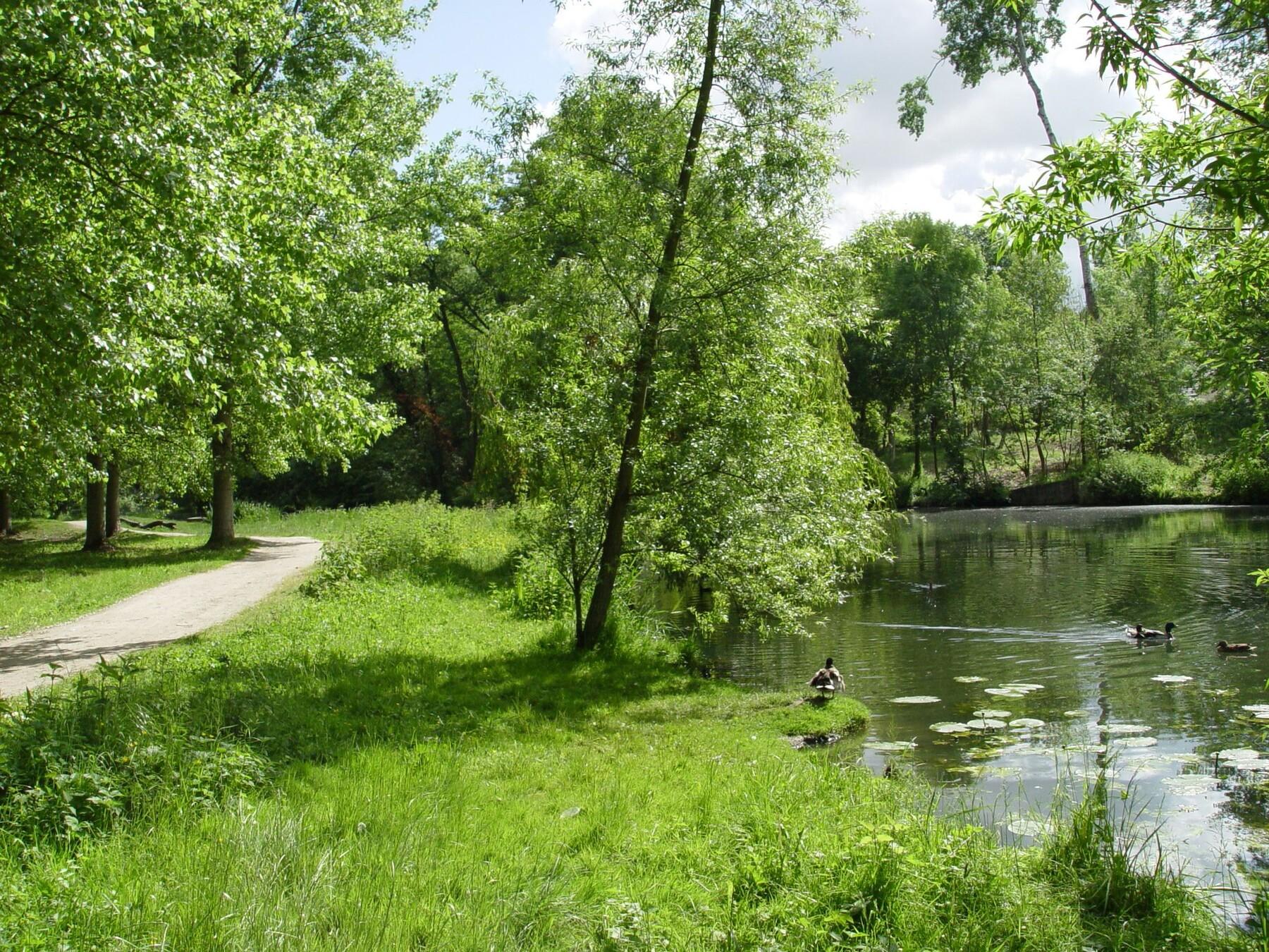 Parcs et espaces naturels epinay sous s nart for Piscine yerres