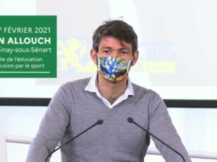 Damien Allouch au Grenelle de l'éducation et de l'inclusion par le sport 80