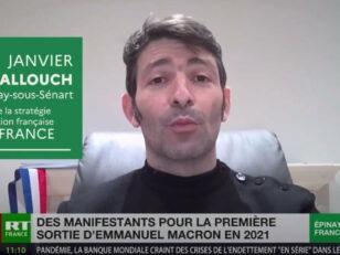 M. le Maire Damien ALLOUCH en direct sur RT FRANCE à propos de la stratégie de vaccination française 93