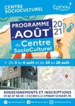 Programme du Centre SocioCulturel Août 2021 17