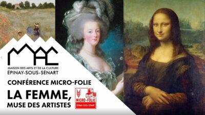 """Conférence Micro-Folie : """"La femme, muse des artistes"""" 1"""