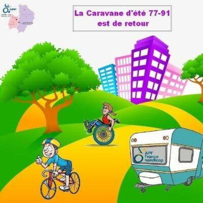 La caravane d'été de l'APF fait étape à Epinay-sous-Sénart 1
