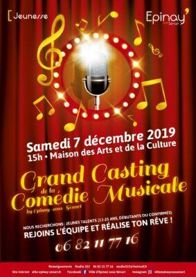 Casting de la 2e saison de la Comédie Musicale by Epinay-sous-Sénart 1