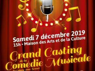 Comédie musicale : casting ce samedi 7 décembre à 15h à la MAC 9
