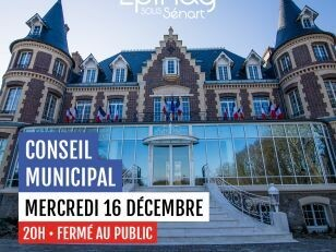 Conseil Municipal ce mercredi 16 décembre à 20h 1