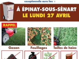 SIVOM : Collecte des bacs marron le 27/04 - Réouverture de la déchetterie le 4/05 et reprise progressive de la collecte des encombrants 7