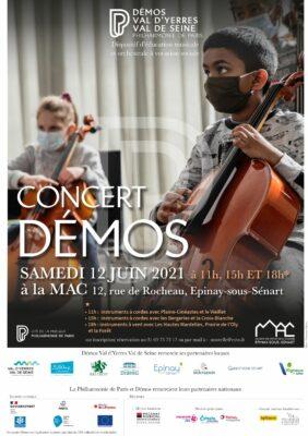 Concert de l'Orchestre DEMOS : en scène les enfants ! 1