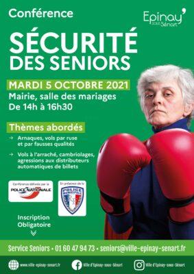 Conférence sécurité des Seniors dans le cadre de la semaine bleue 2021 1