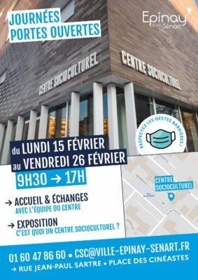 Le centre socioculturel d'Epinay-sous-Sénart ouvre ses portes ! 1