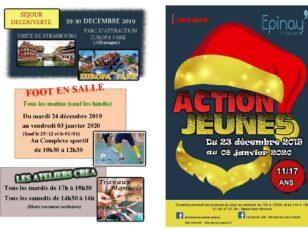Action Jeunes : découvrez le programme des vacances de Noël 3