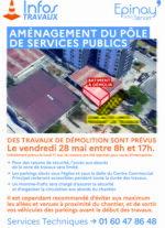 Aménagement du Pôle de Services Publics 32