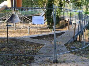 Fermeture de l'aire de jeux Talma pour raison de sécurité 119