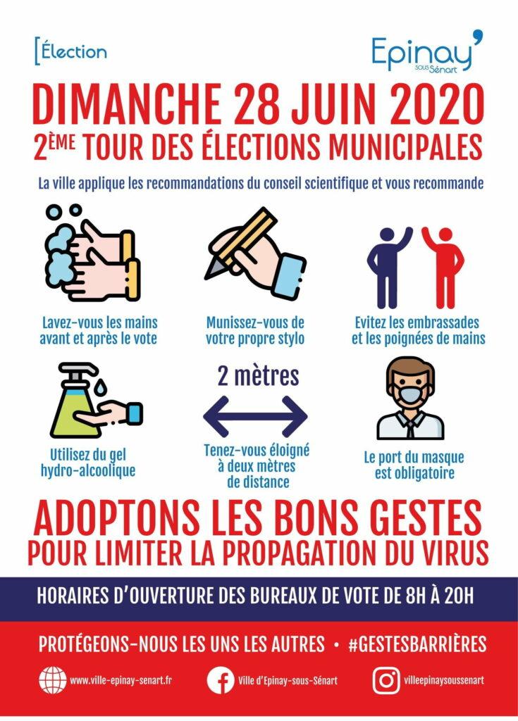 Second tour des Municipales : port du masque obligatoire pour tous ! 4