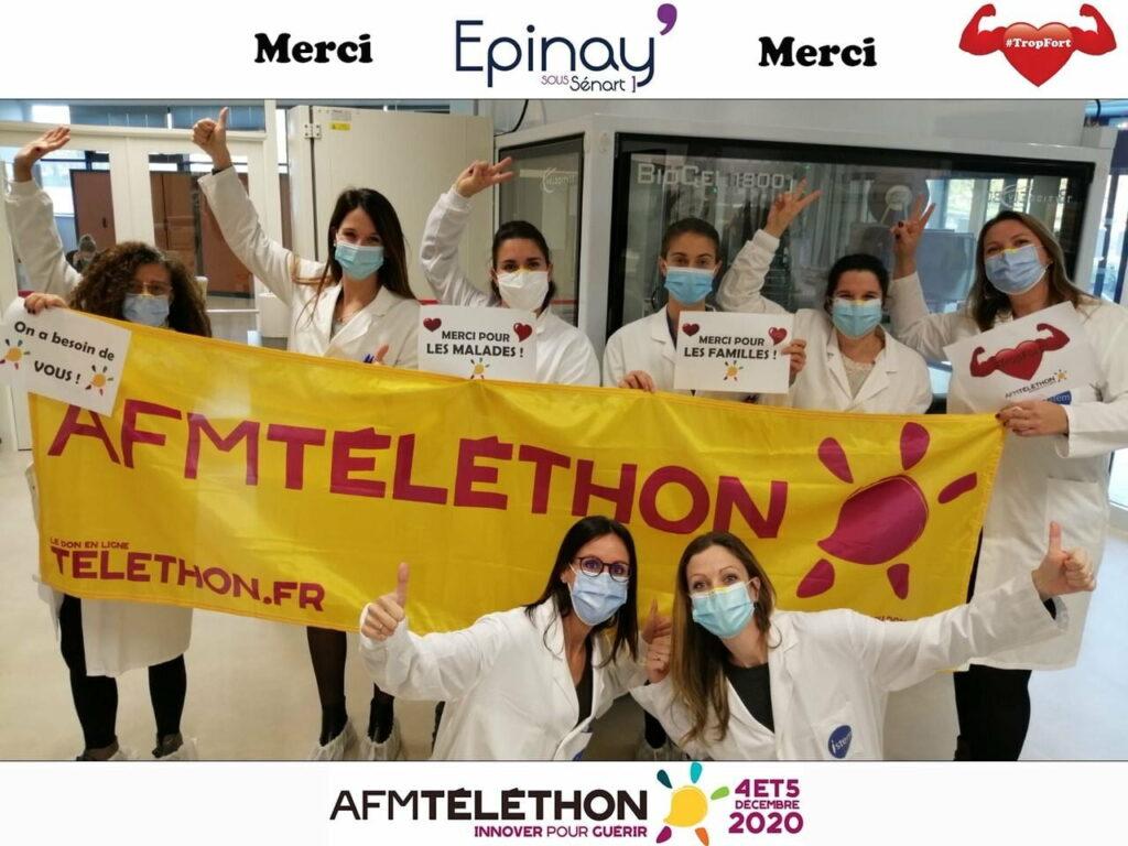 Téléthon 2020 : Epinay s'engage, Epinay innove ! 2
