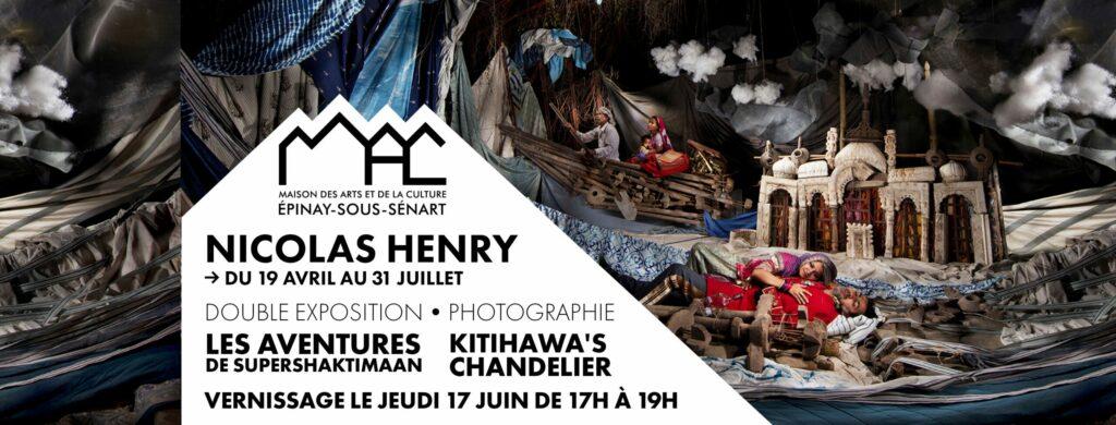 Vernissage de l'exposition Nicolas HENRY (apéritif & entrée libre) 2