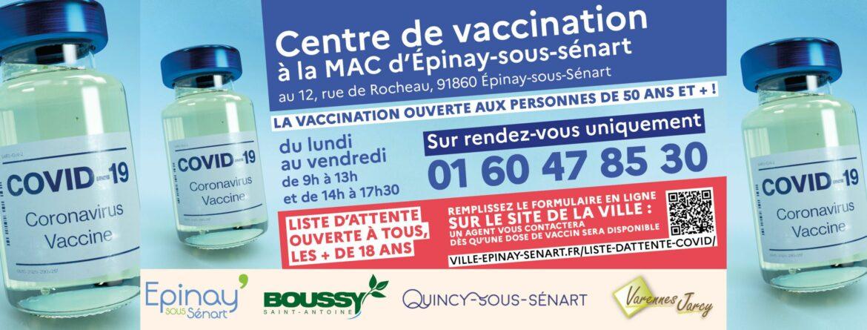 Liste d'attente vaccin COVID-19