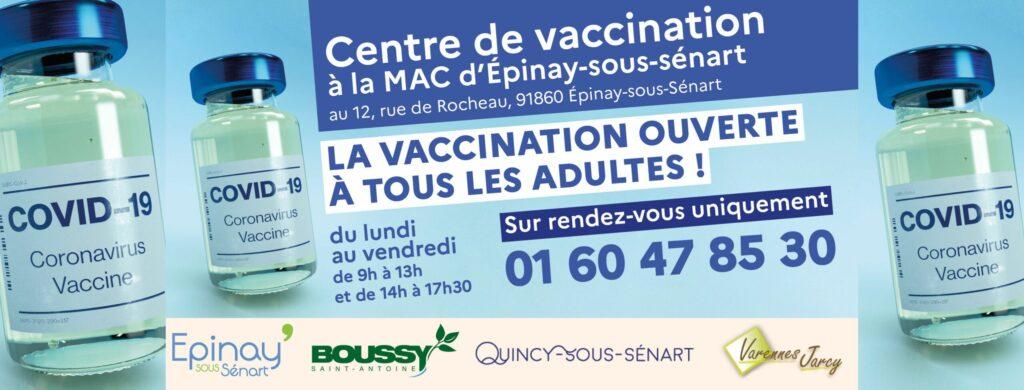 Ouverture de la vaccination à tous les adultes 2