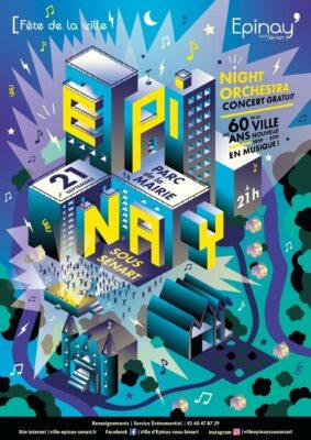 16 artistes sur scène pour célébrer les 60 ans de la Ville Nouvelle 1