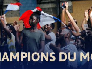CHAMPIONS DU MONDE !! 4