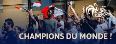 CHAMPIONS DU MONDE !! 1