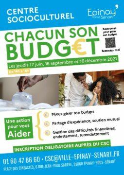 Action Chacun son Budget au CSC 5