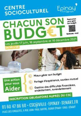 Action Chacun son Budget au CSC 1
