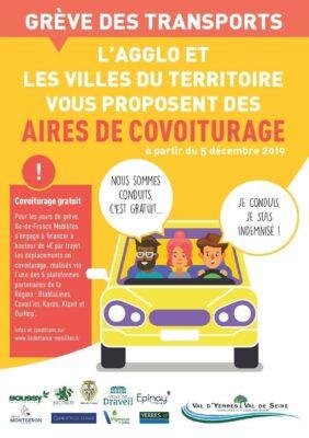 Grève dans les transports : pensez au covoiturage et au coworking ! 1