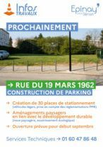 Travaux : Construction de parking 16