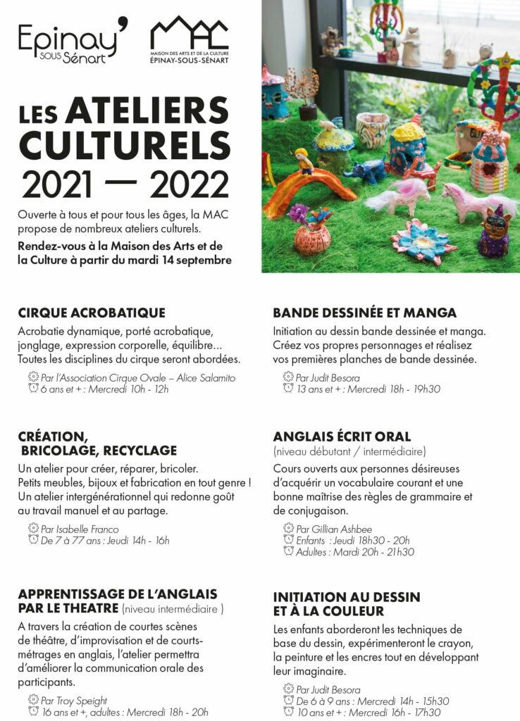 Les ateliers culturels 1