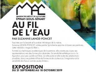 "Expo ""Au fil de l'eau"" à la MAC - Mercredi 16 octobre à partir de 14h 15"