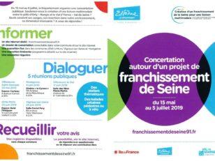 Nouveau pont sur la Seine : exprimez-vous du 3 au 8 juin au Relais Ouest 10