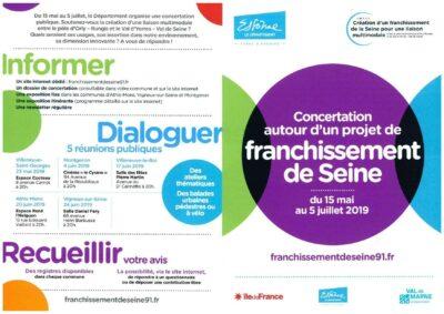 Nouveau pont sur la Seine : exprimez-vous du 3 au 8 juin au Relais Ouest 1