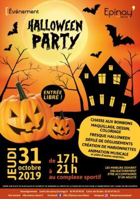 Halloween party, ce jeudi 31 octobre au complexe sportif ! 1