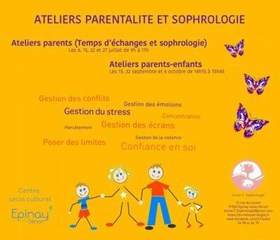 Ateliers parentalité et sophrologie 1