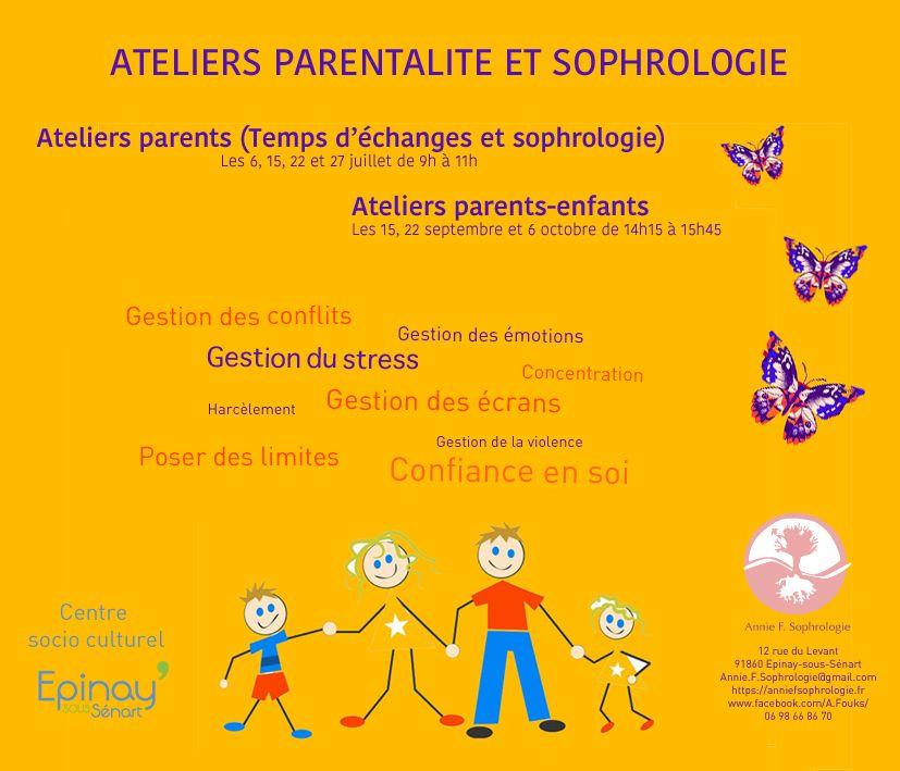 Ateliers parentalité et sophrologie 2