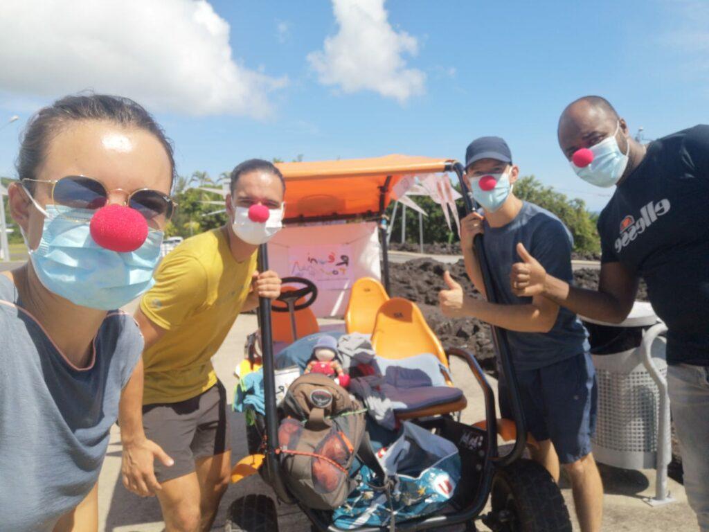 Carnet de voyage : Un pompier d'Epinay-Sous-Sénart fait le tour de La Réunion en rosalie 21