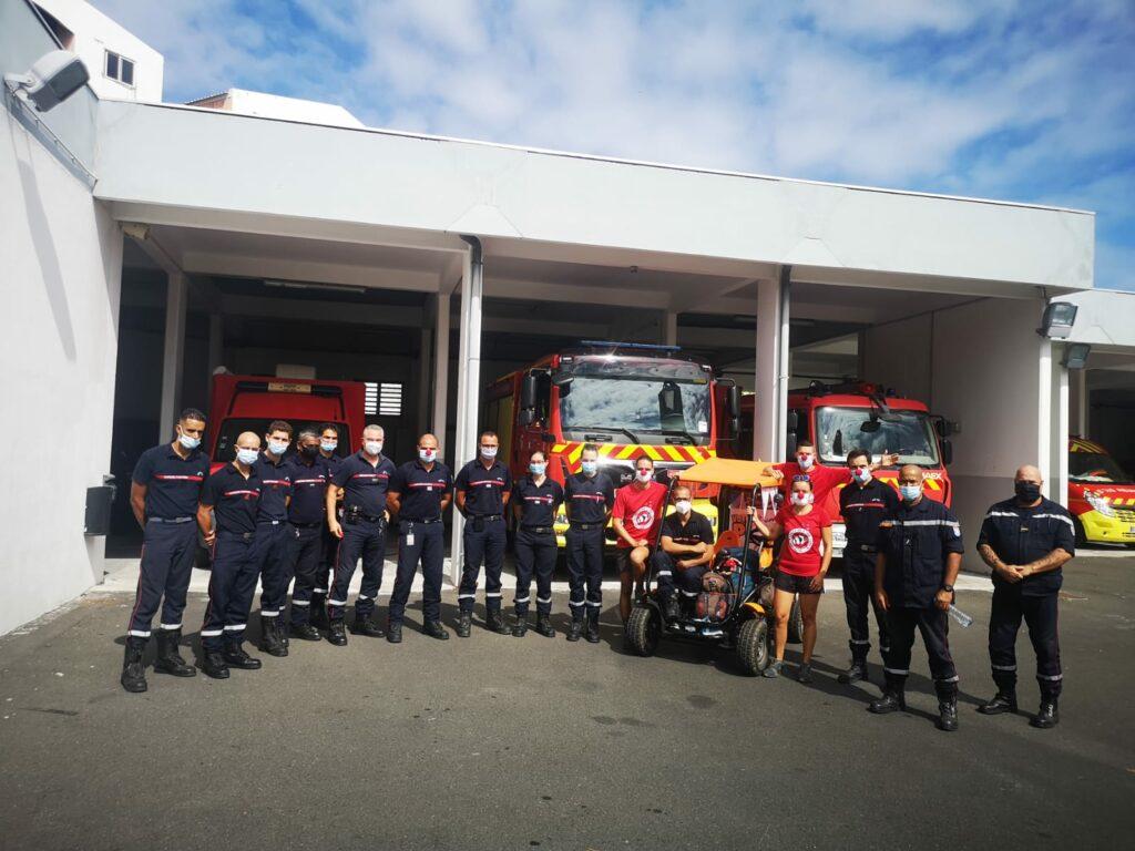 Carnet de voyage : Un pompier d'Epinay-Sous-Sénart fait le tour de La Réunion en rosalie 56