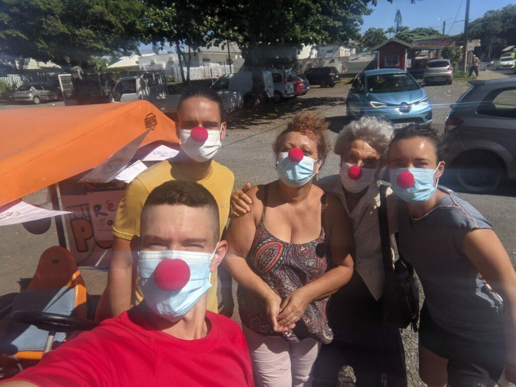 Carnet de voyage : Un pompier d'Epinay-Sous-Sénart fait le tour de La Réunion en rosalie 45
