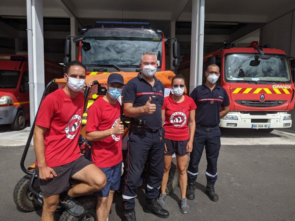 Carnet de voyage : Un pompier d'Epinay-Sous-Sénart fait le tour de La Réunion en rosalie 55
