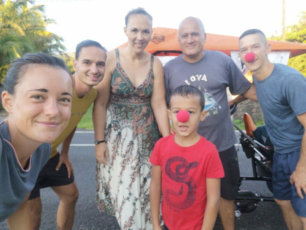 Carnet de voyage : Un pompier d'Epinay-Sous-Sénart fait le tour de La Réunion en rosalie 20